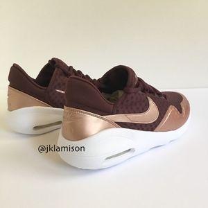 Nike AIR MAX SASHA - Burgundy/Metallic Bronze